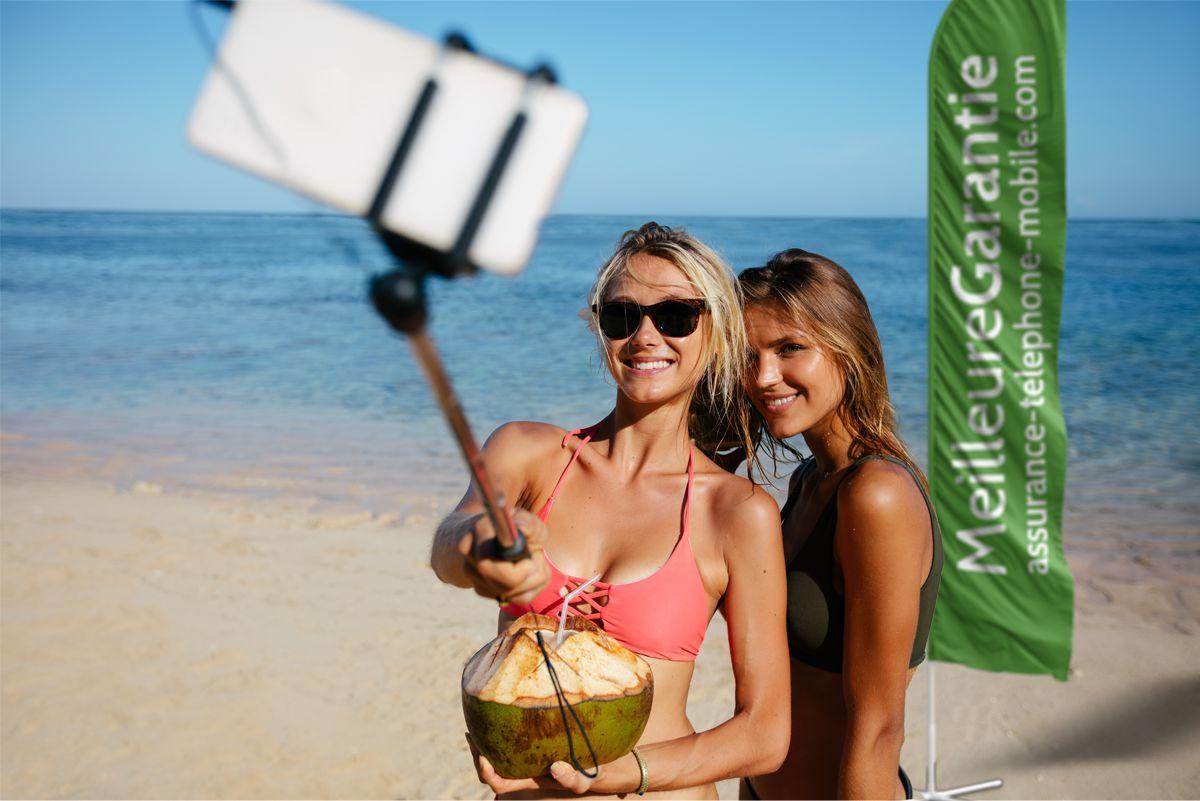 Le téléphone mobile est vulnérable pendant le vacances