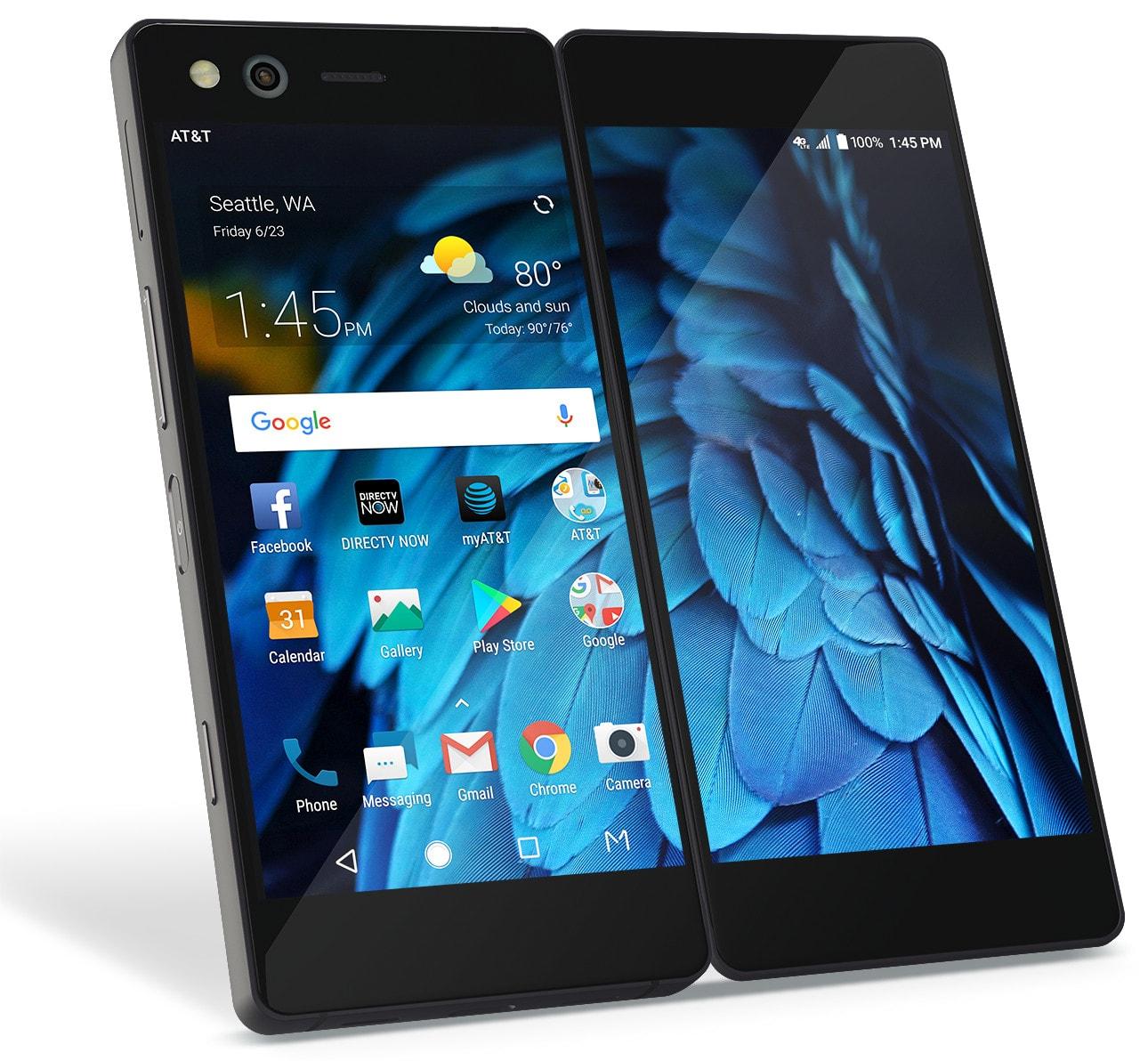 Le nouveau téléphone ZTE Axon M